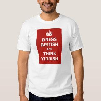 Vista a Británicos y piense el Yiddish Poleras