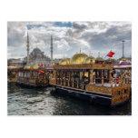 Vista a Estambul (Turquía) Postal