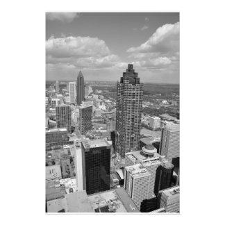 Vista aérea de Atlanta, Georgia Fotografia