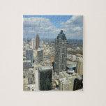 Vista aérea de Atlanta, Georgia Puzzles Con Fotos
