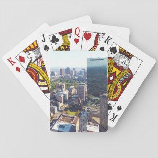 Vista aérea de Boston Cartas De Juego