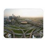Vista aérea de Dallas céntrica, Tejas Iman Flexible