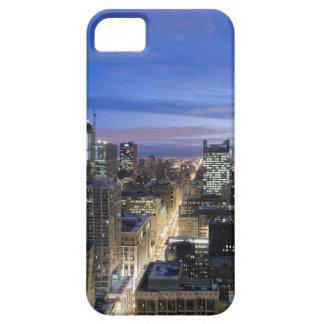 Vista aérea de edificios a lo largo de la calle funda para iPhone SE/5/5s