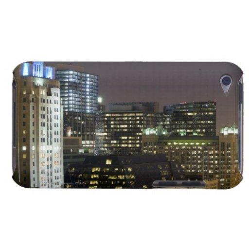 Vista aérea de edificios en el lazo de Chicago en iPod Touch Cárcasa