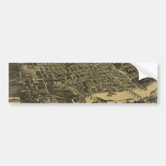 Vista aérea de Knoxville Tennessee a partir de 188