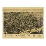 Vista aérea de Knoxville Tennessee a partir de Postal
