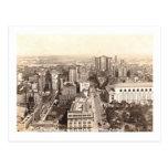 Vista aérea de la 42.a calle, vintage de New York Tarjeta Postal