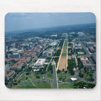 Vista aérea de la alameda nacional tapete de ratón