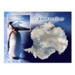 Vista aérea de la Antártida Tarjeta Postal