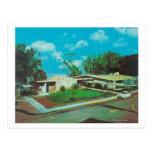 Vista aérea de la casa de campo de oro del centro tarjeta postal