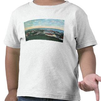 Vista aérea de la ciudad 2 camiseta