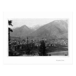 Vista aérea de la ciudad 5 tarjeta postal