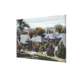 Vista aérea de la residencia SectionOroville, CA Lienzo Envuelto Para Galerías