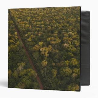 """Vista aérea de la selva tropical. Reserva de Iwokr Carpeta 1 1/2"""""""