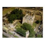 Vista aérea de la torre de Londres, Inglaterra, Re Postales