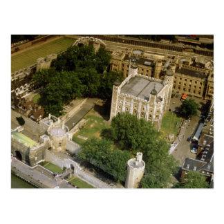 Vista aérea de la torre de Londres Inglaterra Re Postales