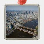 Vista aérea de Londres Adornos