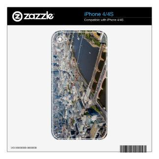 Vista aérea de Londres Calcomanías Para iPhone 4