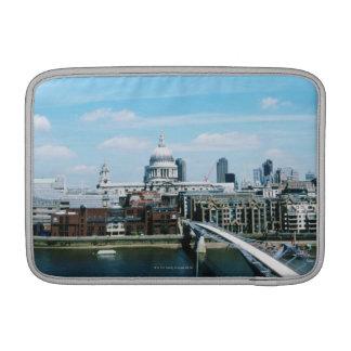 Vista aérea de Londres Funda MacBook