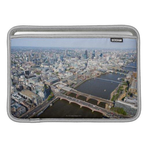 Vista aérea de Londres Funda Macbook Air