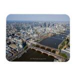 Vista aérea de Londres Imán De Vinilo