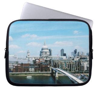 Vista aérea de Londres Manga Portátil