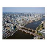 Vista aérea de Londres Postales