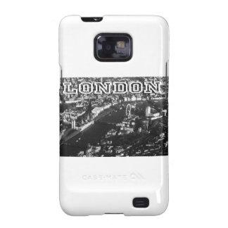 Vista aérea de Londres Samsung Galaxy SII Fundas