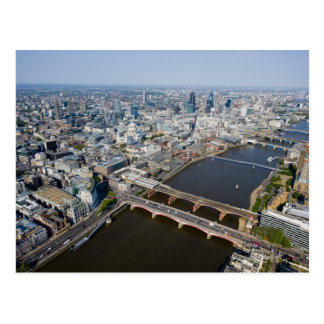 Vista aérea de Londres Tarjetas Postales