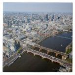 Vista aérea de Londres Teja Cerámica