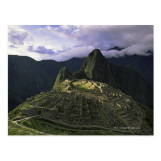 Vista aérea de Machu Picchu, Perú Tarjetas Postales