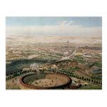 Vista aérea de Madrid de la plaza de Toros Tarjetas Postales