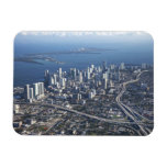 Vista aérea de Miami Iman De Vinilo
