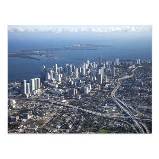 Vista aérea de Miami Postal