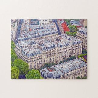 Vista aérea de París difícil Rompecabezas Con Fotos