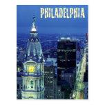 Vista aérea de Philadelphia con ayuntamiento Postales