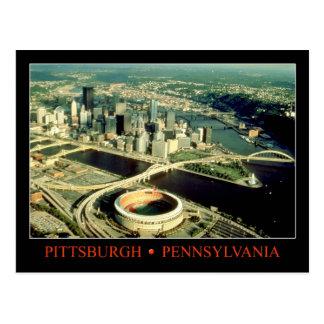 Vista aérea de Pittsburgh Pennsylvania