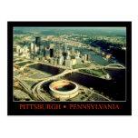 Vista aérea de Pittsburgh, Pennsylvania Postal