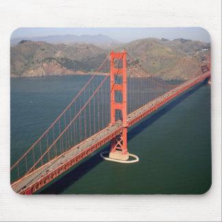 Vista aérea de puente Golden Gate en los 2 Mouse Pad