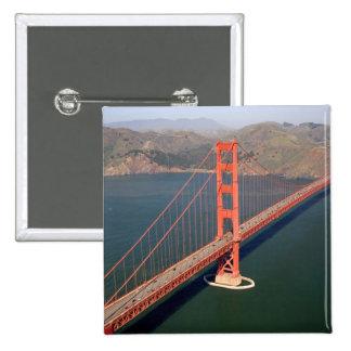 Vista aérea de puente Golden Gate en los 2 Pins