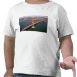 Vista aérea de puente Golden Gate en los 2 Camiseta
