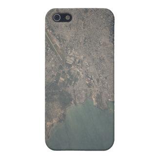 Vista aérea del área del Port-au-Prince de Haití iPhone 5 Protectores