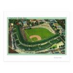 Vista aérea del campo # de 2Chicago, IL de Wrigley Postal