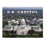 Vista aérea del capitolio de los E.E.U.U. en Tarjeta Postal