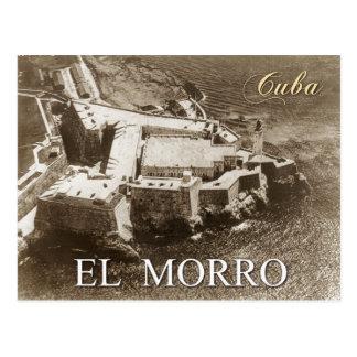 Vista aérea del castillo de Morro, La Habana, Cuba Postales