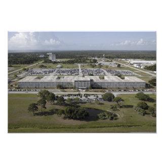 Vista aérea del Centro Espacial Kennedy Fotografía