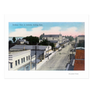 Vista aérea del CityAntioch, CA Postales