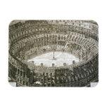 Vista aérea del Colosseum en Roma de las 'opinióne Iman