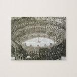 Vista aérea del Colosseum en Roma de las 'opinióne Puzzles
