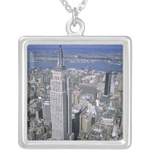 Vista aérea del Empire State Building y Colgante Cuadrado